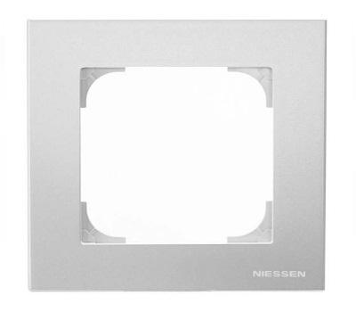 Серебристый алюминий (пластик)