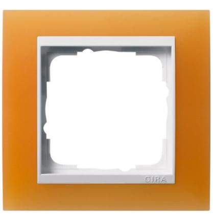 Матовая оранжевая