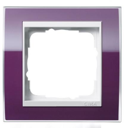 Темно-фиолетовая глянцевая